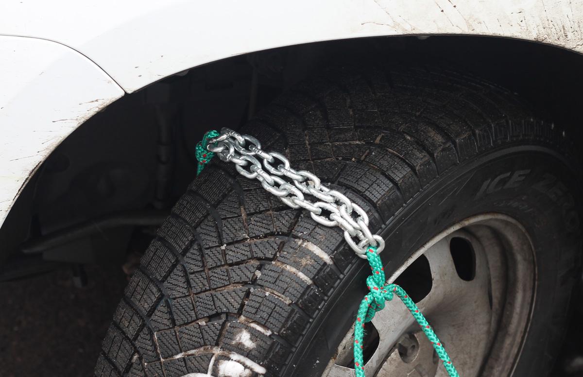 Как сделать цепи на колеса на ваз