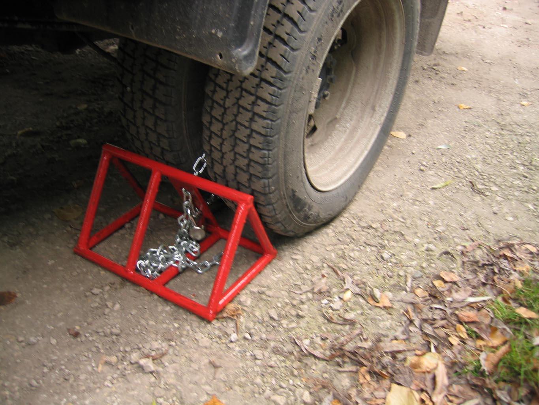 Применение противооткатных устройств для автотранспорнта